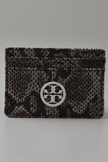 Tory Burch Slim Card Case - Lyst