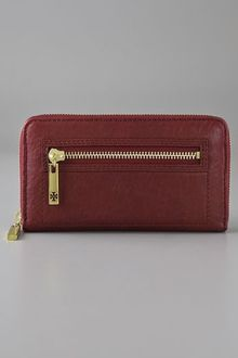 Tory Burch Steffi Zip Continental Wallet - Lyst