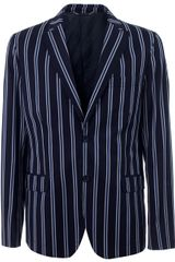 D&G Single-breasted Striped Blazer - Lyst
