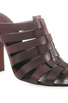 Michel Vivien Woven Leather Sandals - Lyst