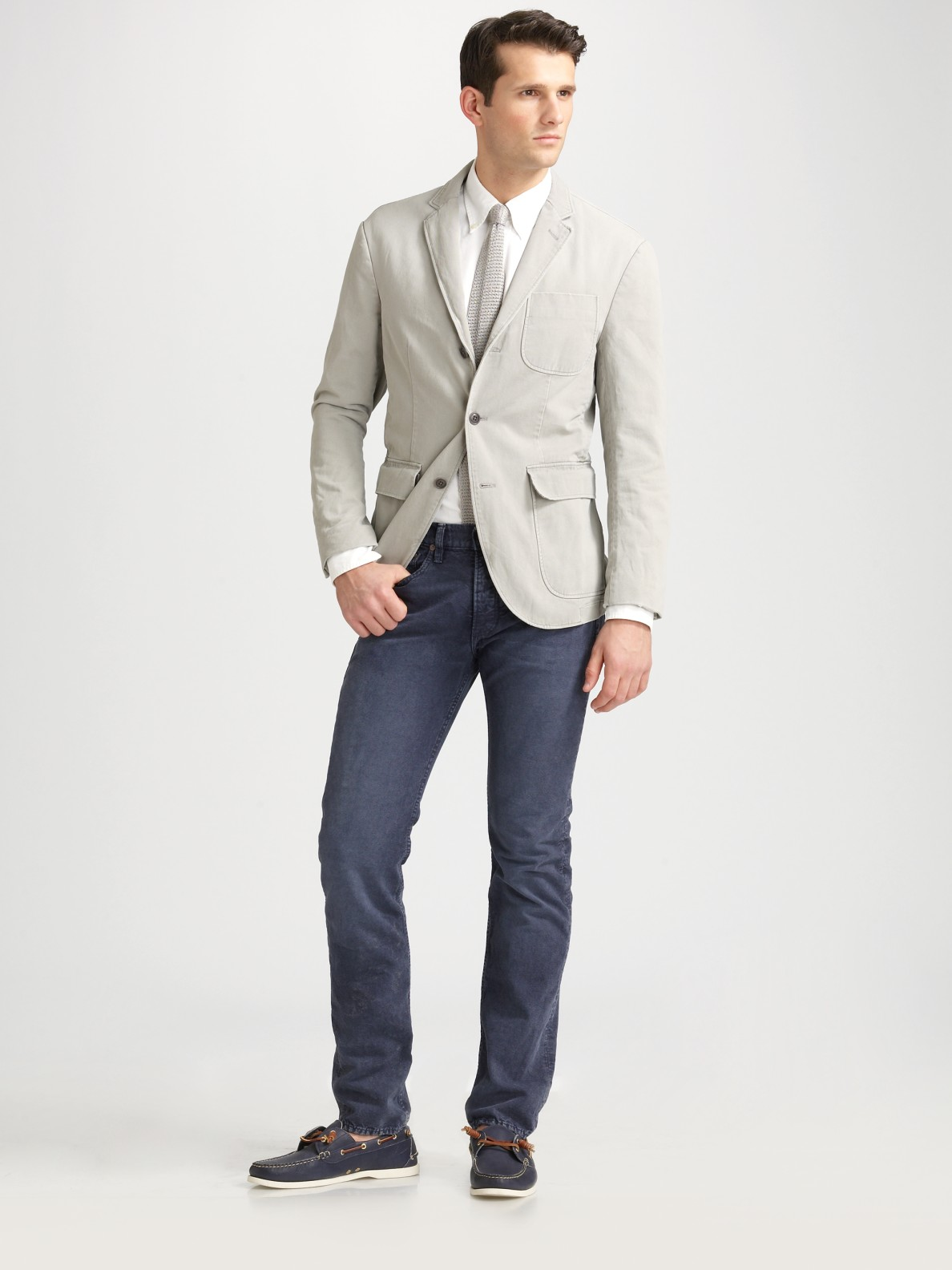 polo ralph lauren slim fit jeans in blue for men navy lyst. Black Bedroom Furniture Sets. Home Design Ideas