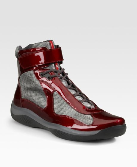 prada-darkred-high-top-patent-sneakers-product-1-153204-006542707 ... Toxicity System Of A Down Video