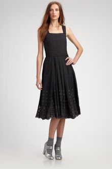 Marc Jacobs Lace-trimmed Sundress - Lyst