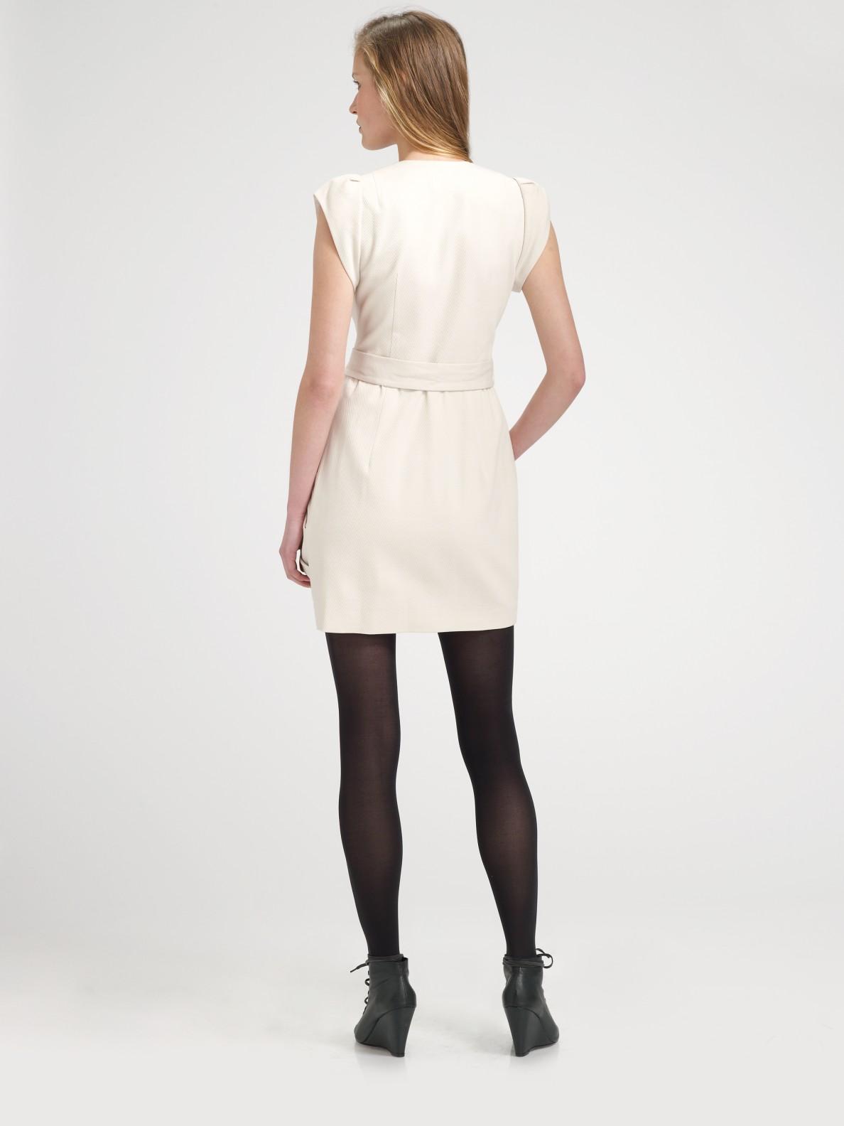 Lyst - Nanette Lepore Casino Royale Dress in Natural