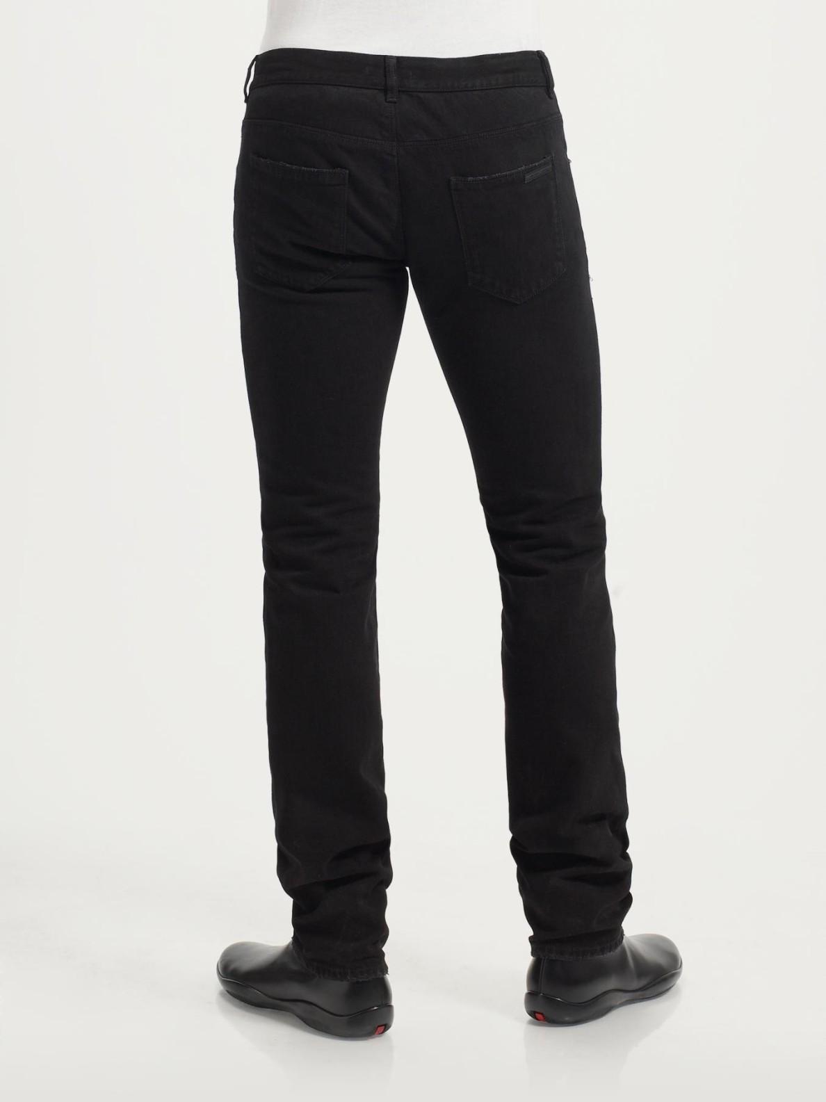 Black Slim Leg Jeans