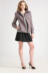See By Chloé Double-collar Flecked Wool Jacket - Lyst