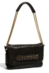 Be & D Cooper Chain Strap Leather Shoulder Bag - Lyst
