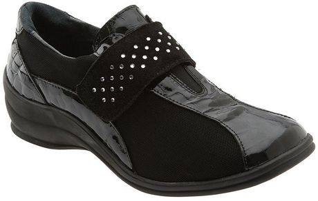 Helle Comfort ® Ina Slip-on in Black - Lyst