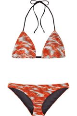 Missoni Mare Galles Crochet-knit Triangle Bikini - Lyst
