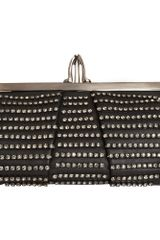 Christian Louboutin Mini Loubi Strass Clutch - Lyst