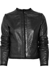 D&G Quilted-leather Jacket - Lyst