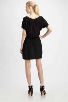 Cynthia Steffe Carmella Silk Jersey Color Block Dress - Lyst