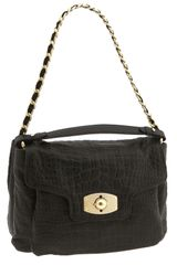 Furla Chain Strap Leather Shoulder Bag - Lyst