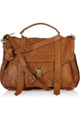 Proenza Schouler Ps1 Extra Large Leather Satchel - Lyst