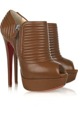 Christian Louboutin Futura Nappa-leather Ankle Boots - Lyst