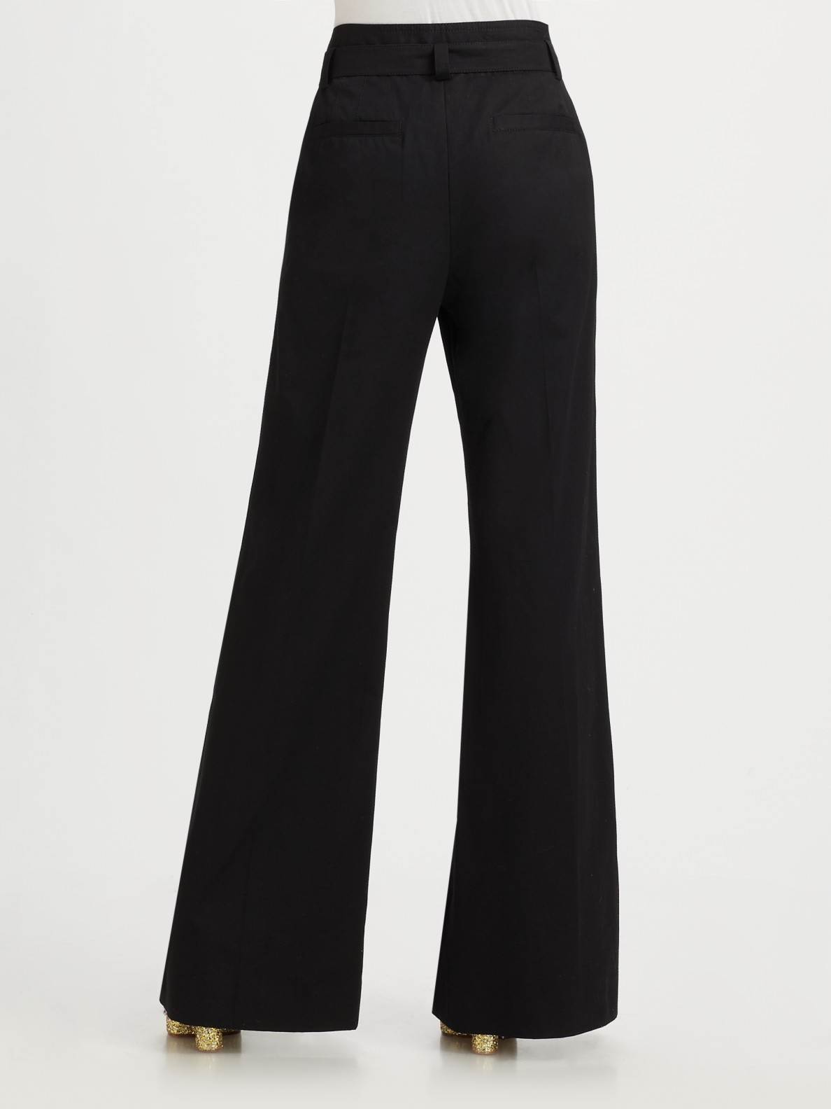 wide leg trousers - Black Marc Jacobs