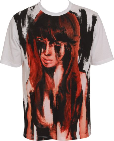 Beatrice Boyle Redhead T-shirt in White for Men