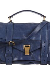 Proenza Schouler Medium Leather Ps1 - Lyst