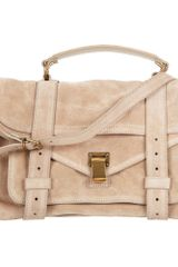 Proenza Schouler Medium Suede Ps1 - Lyst