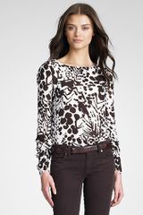 Tory Burch Kesse Top - Lyst