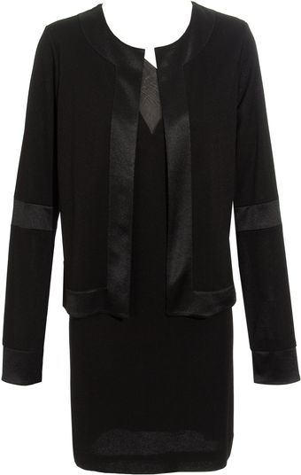 Balenciaga Dress with Attached Jacket - Lyst