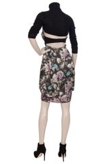 Preen Floral Print Halter Dress in Multicolor (multicoloured) - Lyst