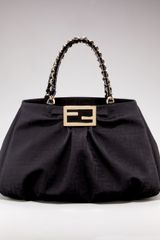 Fendi Grande Mia Shoulder Bag - Lyst