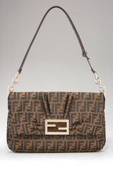 Fendi Mia Flap-top Shoulder Bag - Lyst