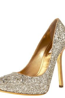 Miu Miu Glittered Pump - Lyst