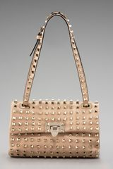 Valentino Studded Flap-top Bag - Lyst