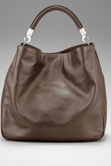 Yves Saint Laurent Metallic Roady Hobo, Large - Lyst