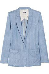 Acne Blacksweet Denim Blazer - Lyst