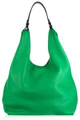 Jil Sander Market Leather Bag - Lyst