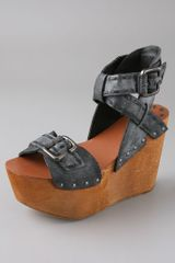 Joe's Jeans Bliss Platform Wedge Sandals - Lyst
