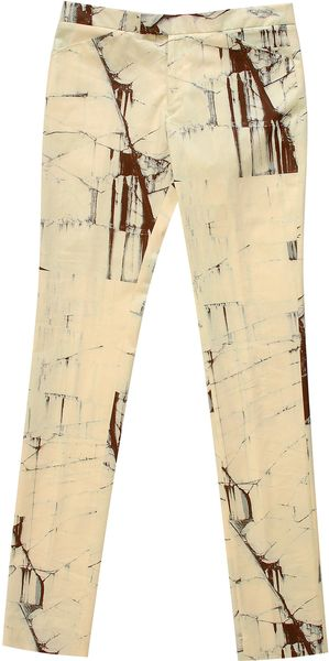 Commuun Print Trousers - Lyst