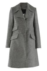 Marc Jacobs Three-quarter Wool Mix Coat - Lyst