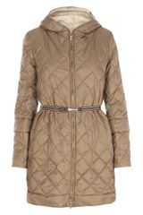 Max Mara Long Quilted Coat - Lyst