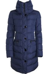 Moncler Vos Long Down Jacket - Lyst