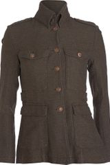 Rag & Bone Leigh Army Jacket - Dark Green - Lyst