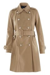 Sonia By Sonia Rykiel Double Breasted Coat - Lyst