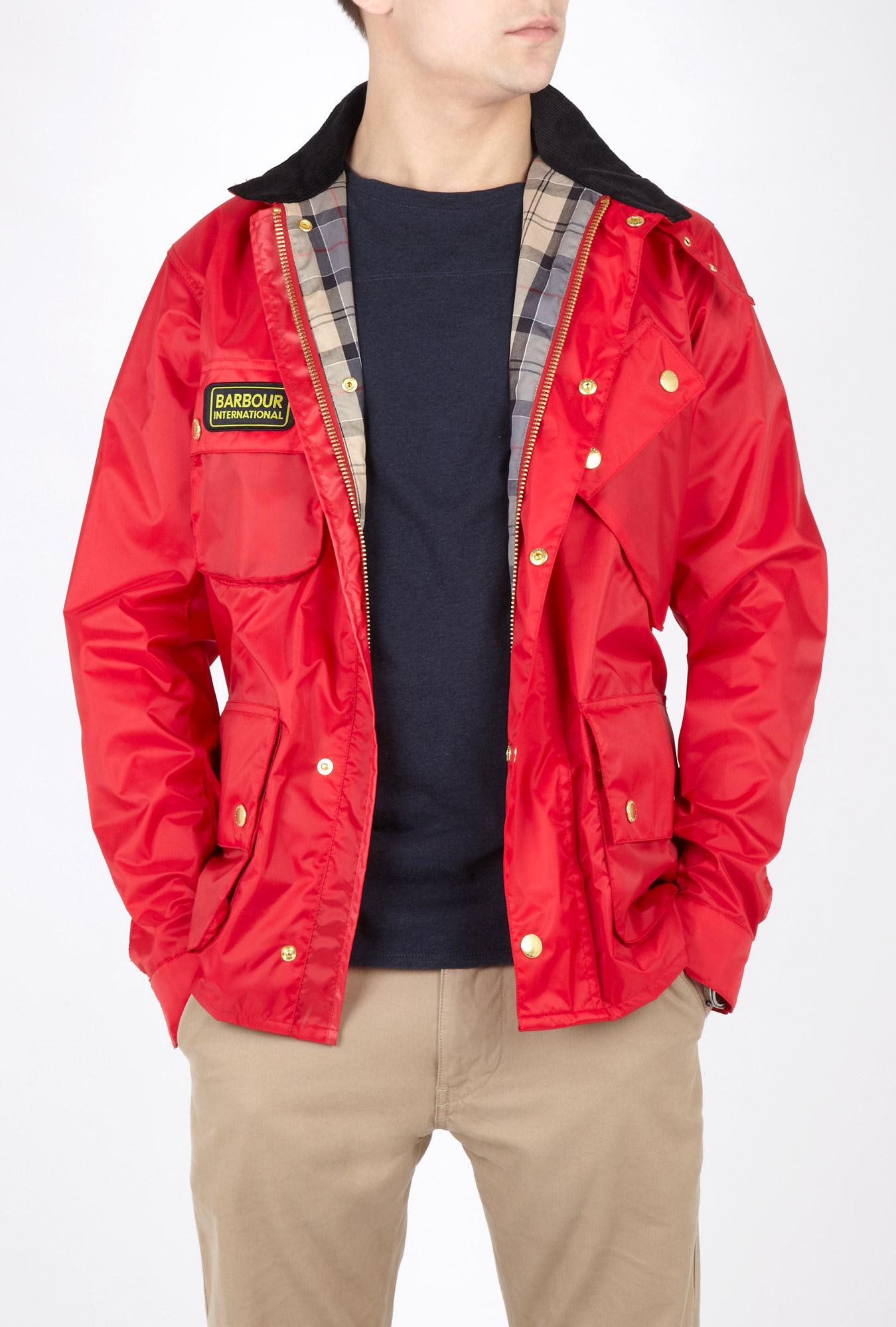 Red Nylon Jackets 117