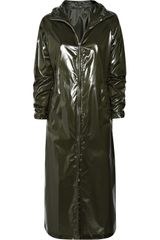 Clemens En August Glossy Long-length Raincoat - Lyst