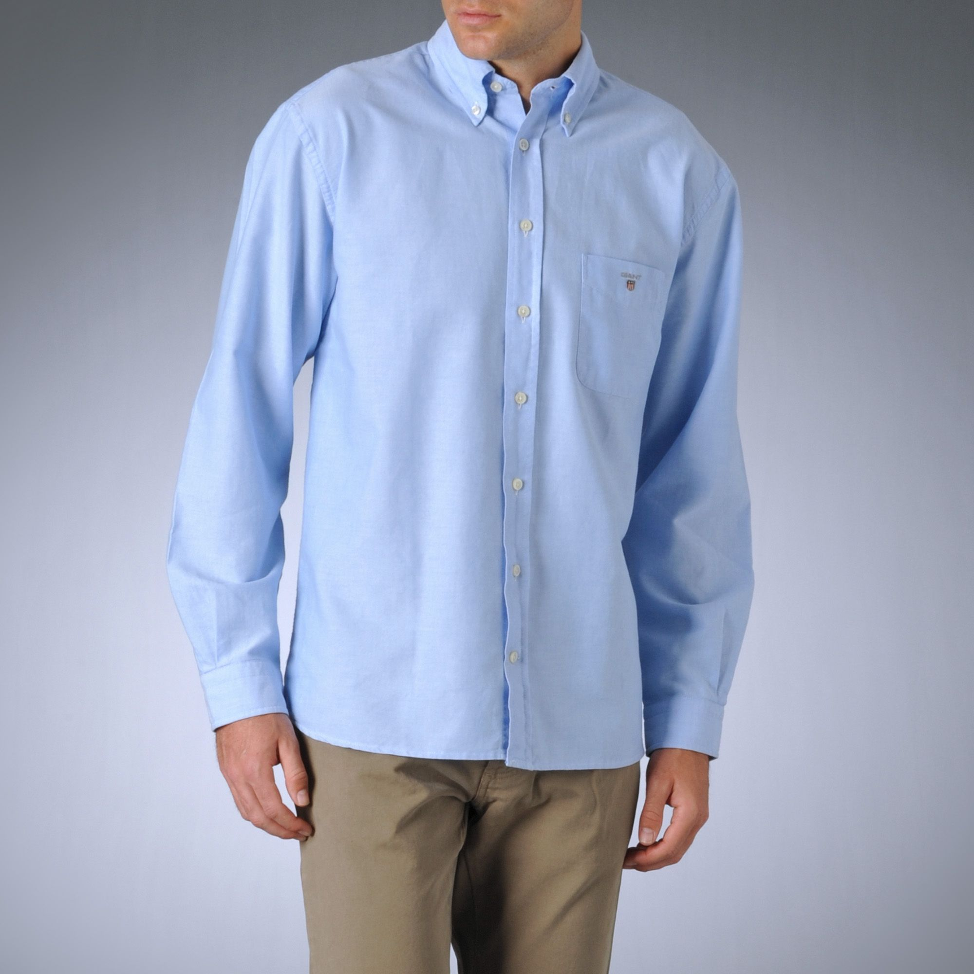 Blue oxford shirt t shirts design concept for Mens blue oxford shirt