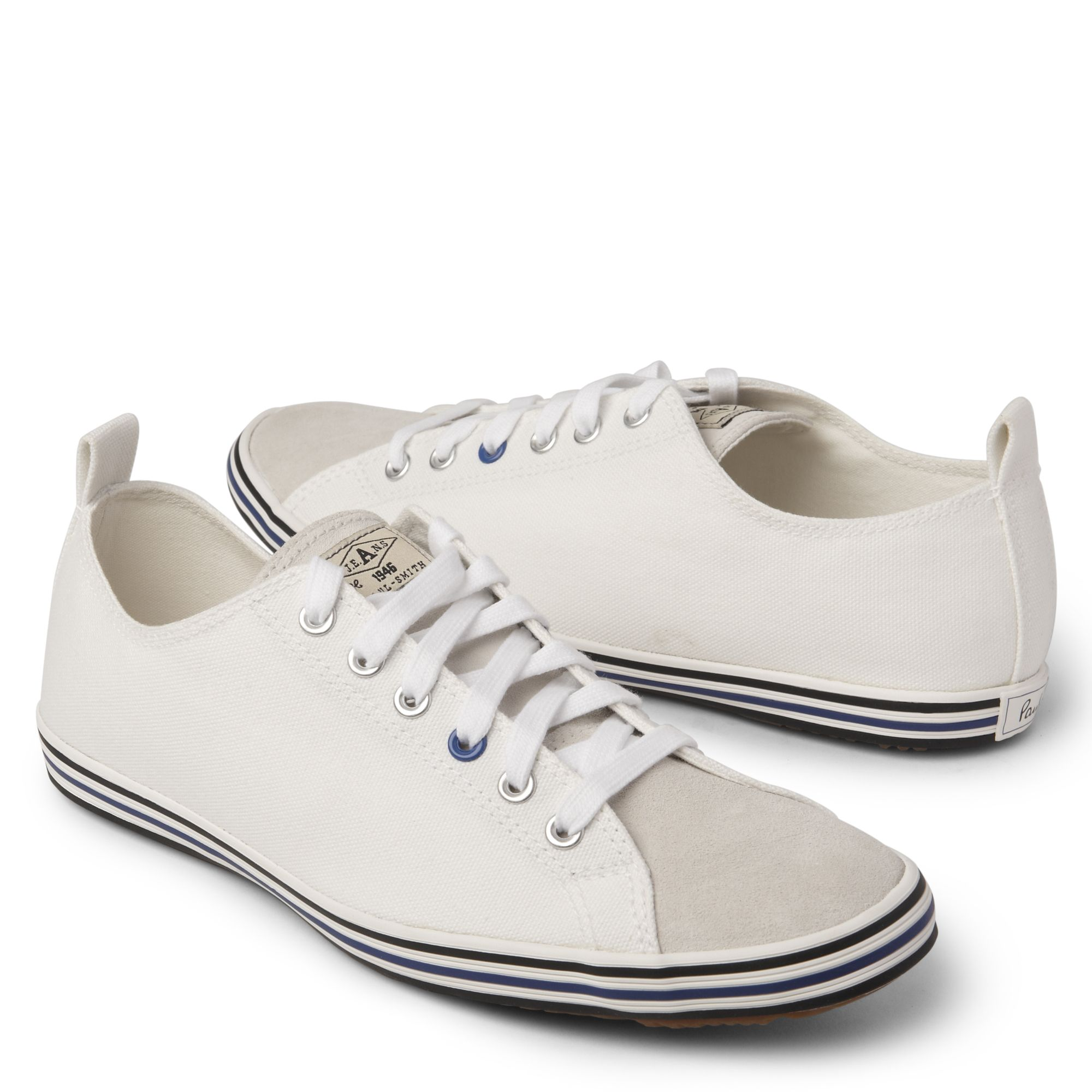 Paul Smith Shoes White Trainer