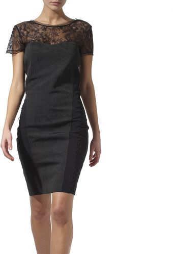 Pucci Lace Detail Dress - Lyst
