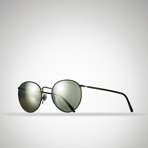 b6a9604fb3 Polo Ralph Lauren Retro Round Sunglasses in Green for Men - Lyst