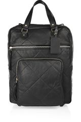 Lanvin Amalia Voyage Leather Suitcase - Lyst