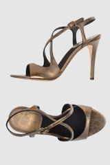 Donna Karan New York High-heeled Sandals - Lyst