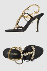 DSquared2 High-heeled Sandals - Lyst