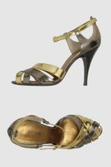 Roberto Cavalli High-heeled Sandals - Lyst